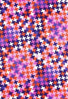 Fabric   Jax Print in Violet   Schumacher