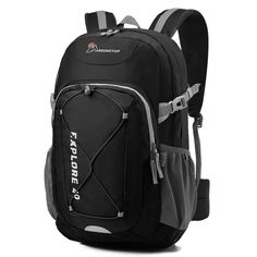 Mardingtop Lightweight Daypack Camping Backpack Travel Daypack Casual Backpack School Backpck for Outdoor Sport. (Jujube Red) Find out more about the great product at the image link. Backpacking Gear, Camping And Hiking, Camping Gear, Camping Bags, Lightweight Travel Backpack, Internal Frame Backpack, Best Hiking Backpacks, Best Travel Accessories, Backpack Reviews