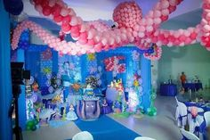 Inspire sua Festa ® | Blog Festa e Maternidade Balloons And More, Troll Party, Birthday Cake, Birthday Parties, Baby Shark, Balloon Decorations, Wedding Events, First Birthdays, Toddler Boy Birthday