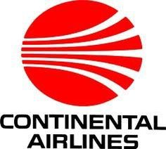 Continental Airlines old 'meatball' logo