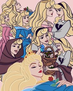 Wall Paper Disney Princess Aurora Sleeping Beauty 47 Ideas For 2019 Disney Kunst, Arte Disney, Disney Fan Art, Disney Love, Disney Magic, Disney Films, Disney Cartoons, Disney Pixar, Disney Characters