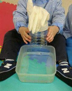 Actividades para Educación Infantil: EXPERIMENTO: el guante que saluda