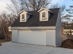 Would be perfect for hubbys studio for his work! garage with apartment above by Tuff Shed