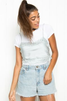 Brandy ♥ Melville | Dionne Silky Tank - Clothing