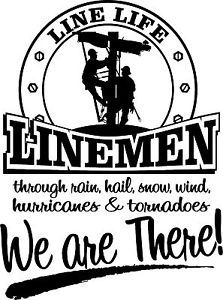 Lineman T Shirt We Are There Power Lineman | eBay