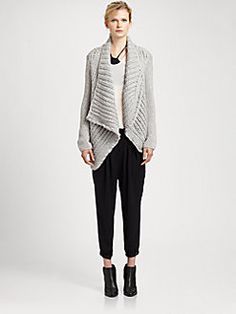 Helmut Lang - Augmented Sweater. add a lil warmth to your winter ;)