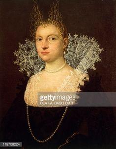 Stock Photo : Portrait of Gentlewoman, by Unknown Venetian artist