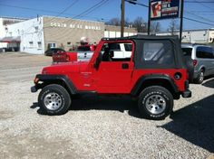 we installed a lift kit and custom wheels on this jeep  wrangler