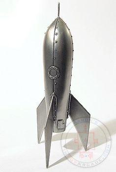 Buy Pewter Bolts  Cool Rockets at TinToyArcade.com