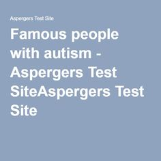 Dating sites for people with aspergers