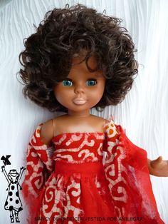 ANILEGRA COSE PARA NANCY: JIRONES DE GASA PARA LA NOCHE Ag Dolls, Girl Dolls, Nancy Doll, 18 Inch Doll, Vintage Dolls, Couture, American Girl, Doll Clothes, Barbie