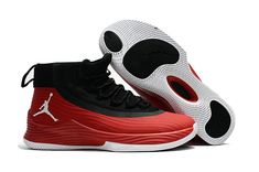 newest collection 466e6 3b459 Air Jordan Ultra Fly 2 Black Red For Sale Big Boys Youth Jeunesse Shoes