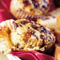 Crunchy Toffee Muffins  A favorite candy puts an irresistible spin on moist muffins.