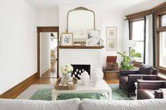 Masculine & Moody Meets Light & Airy in This Lovely Home Tour | lark & linen