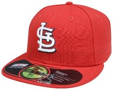 reputable site 83737 a146f New Era 59FIFTY St. Louis Cardinals MLB Authentic Collection On Field  Home Amazon