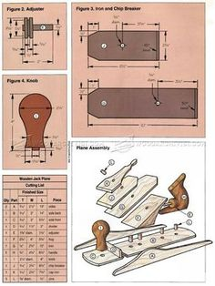 Wooden Jack Plane - Woodworking Plans