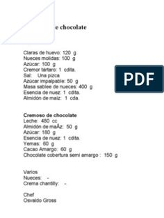 Recetario Chango Por Osvaldo Gross | Postres | Crema | Prueba gratuita de 30 días | Scribd Oswaldo Gross, Social, World, Caramelized Bananas, Chocolate Spread, Sweet Recipes, Deserts, Recipe Books