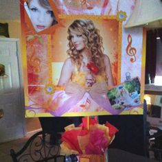 Centerpiece for a Taylor Swift party. playpatterns.net