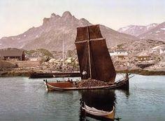 Nordlandsbåt 1890-1900