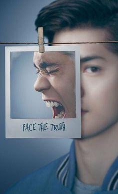 "FACE THE TRUTH  ""A face da verdade""  13 REASONS WHY  Zach Dempsey"