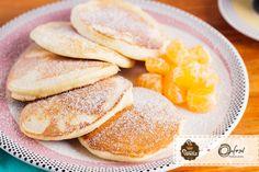 confira a receita dessa deliciosa panqueca de tangerina super fofinha e deliciosa!