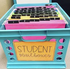 83 Best Classroom Organization Ideas - Chaylor & Mads - - The best ideas in classroom organization This includes the best ideas to organize your bookshelves, create an epic teacher cart, plus create the perfect space just for you! First Grade Classroom, New Classroom, Classroom Design, Preschool Classroom, Classroom Ideas, Classroom Mailboxes, Classroom Secrets, Kindergarten Classroom Organization, Dinosaur Classroom