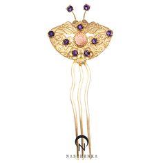 나스첸카! 가장 한국적인 아름다움 - 뒤꽂이 Korean Traditional, Hair Ornaments, Hair Pins, Hair Accessories, Chic, Bracelets, Jewelry, Fashion, Hair Decorations