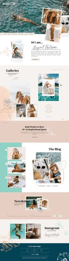 a clean, modern, and playful showit website template by lindsey eryn of third story apartment. Web And App Design, Flat Web Design, Minimal Web Design, Web Design Trends, Design Websites, Mobile App Design, Modern Web Design, Mobile Ui, Dashboard Design