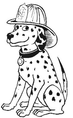 coloring pages of dalmation-#35
