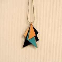 recycling necklace