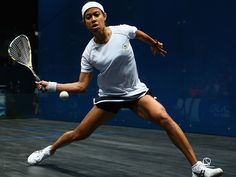 Widely regarded as one of the best female squash players in the history of the game, Nicol David first shot to fame in 2001.
