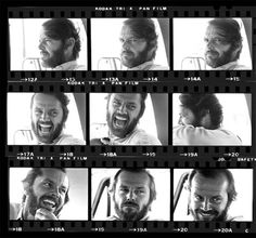 View Jack Nicholson Contact Sheet, Montana by Harry Benson on artnet. Browse more artworks Harry Benson from Contessa Gallery. Harry Benson, Jack Nicholson, Brigitte Bardot, Pan Film, Montana, Contact Sheet, Face Expressions, Mickey Rourke, Alfred Hitchcock