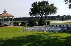 Outdoor wedding in Houston overlooking the lake. Wedding Ceremony, Wedding Venues, Wedding Ideas, Cinderella Wedding, Indoor Wedding, Beautiful Space, Houston, Restoration, Fairytale