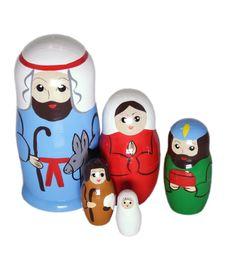 Jeesuksen syntymä jouluyönä-maatuskanukke (5 nukkea sisäkkäin) Salt And Pepper, Salt N Pepper