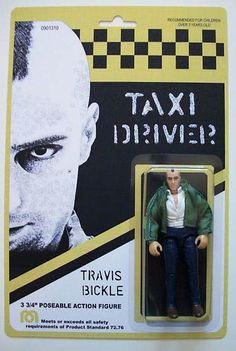 Somebody actually made an action figure of Travis Bickle!