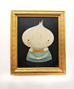 Ollie Onionhead by Emily Winfield Martin (of The Black Apple)
