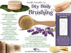 Health Benefits of Dry Body Brushing