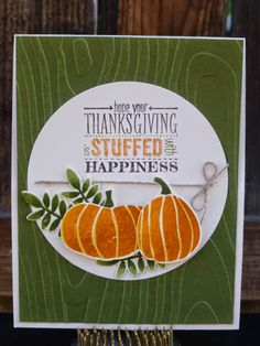Stampin Up Fall Fest Bundle, Stampin Up Mingle All the Way Stamp set, Circle Collections, Stampin Write Markers. For more ideas visit my blog; www.mystampinbox.com