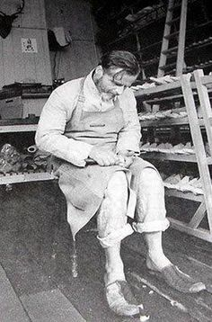 Paul Harnden at work