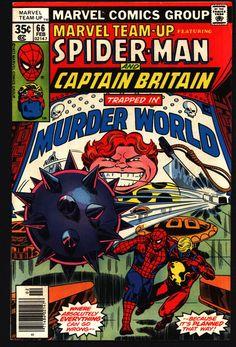 Marvel TEAM-UP #66 Captain Britain X-Men's Arcade Jean DeWolff Miss Locke Mr. Chambers Chris Claremont John Byrne Comics