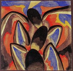 Solar, Xul (1887-1963) - 1918 Rhythms (Private Collection) by RasMarley, via Flickr