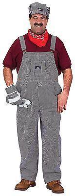 Adult train engineer costume agree