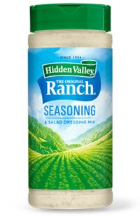 Ranch Meatloaf Recipe | Hidden Valley® Ranch Ranch Salad Dressing, Ranch Dressing Recipe, Baked Ranch Chicken, Mayo Chicken, Hasselback Chicken, Crusted Chicken, Chicken Tenders, Ranch Meatloaf, Hidden Valley Recipes