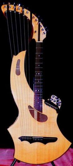 Seraph Harp Guitar Lardys Chordophone of the day 2017 --- https://www.pinterest.com/lardyfatboy/