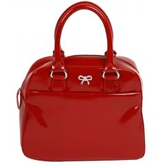 Mala Leather Allure Luxury Patent Grab Bag / Leather Handbag £58.00 available from www.kubi.co.uk -