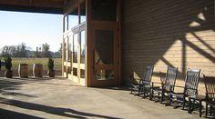 Waters Winery #architecture #porch #breezeway #winery #design #WallaWalla #Boxwood #Waters