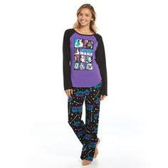 Star Wars Pajamas: Knit Top & Pants Pajama Set - Juniors