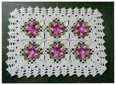 louca por linhas - crochet e patchwork: Mais tapetes