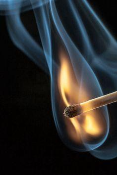 Like a match to a flame