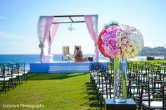 Colorful floral arrangement.
